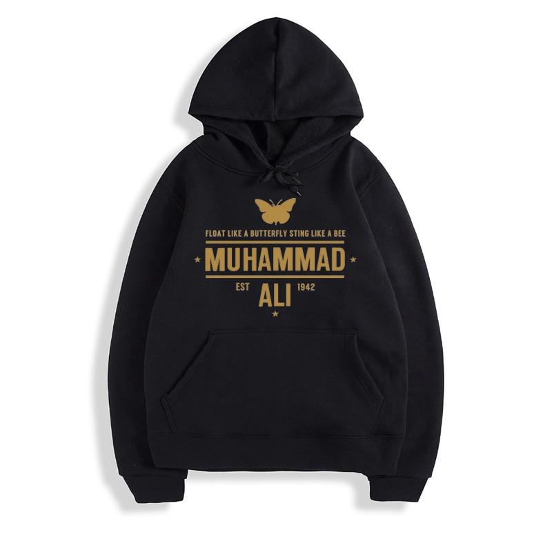 Muhammad Ali Men Hoodies Sweatshirts Moleton Masculino Cotton Hoodies Men Sweatshirts Track Spring Clothing