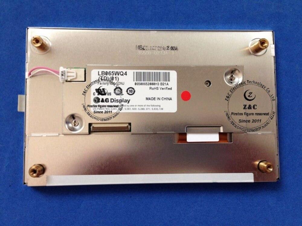 LB065WQ4(TD)(01) LB065WQ4-TD01 6,4 дюймов 400*240 ЖК-дисплей для автомобиля аудио gps навигация для LG