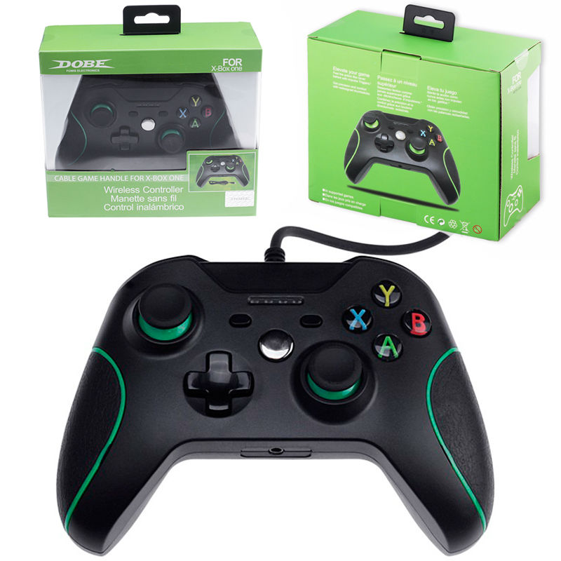 USB Wired Controller Gamepad Joystick For Microsoft Xbox One PC Windows