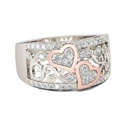 Vecalon kalp şekli söz parmağı yüzük 925anillos gümüş 5A zirkon Cz nişan alyanslar kadınlar için Dropshipping takı