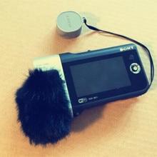 Dead Cat Outdoor Artifical Fur Windproof Muff Windscreen Shield For Sony HDR-MV1windshield