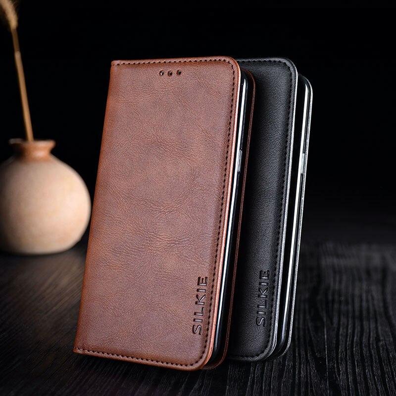 Flip Vintage Leather Case For ASUS ZenFone Max Pro M1