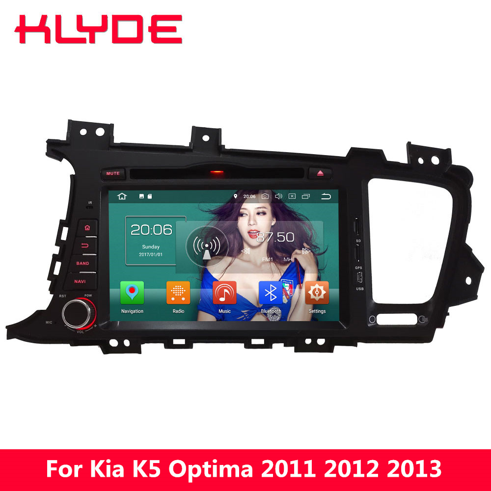 KLYDE 8 Octa Core 4GB RAM Android 8.0 32GB ROM PX5 4G WIFI BT Car DVD Multimedia Player Radio For Kia K5 Optima 2011 2012 2013 free mic 4gb ram 32gb rom octa core android 8 0 car dvd gps for ford focus 3 2012 2014 with radio bt wifi dvr mirror link obd