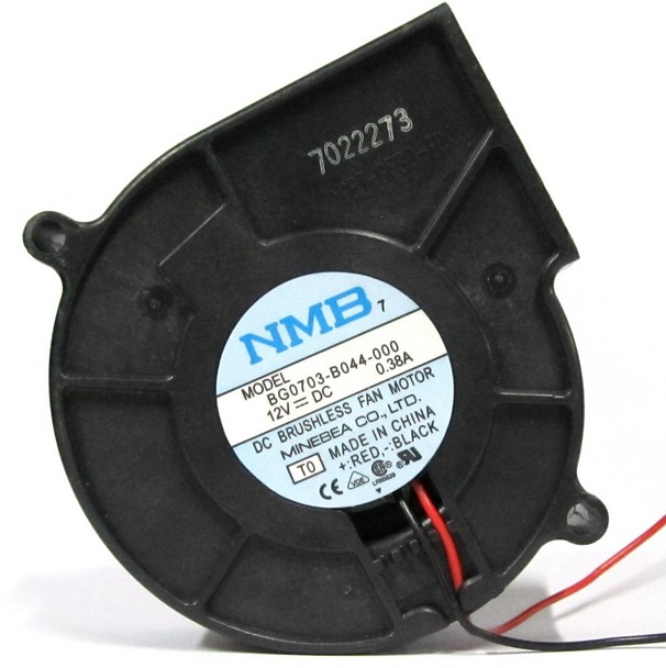 Centrifugal Supercharger Cheap: Free Shipping Wholesale NMB 7530 DC 12V 0.38A Turbo