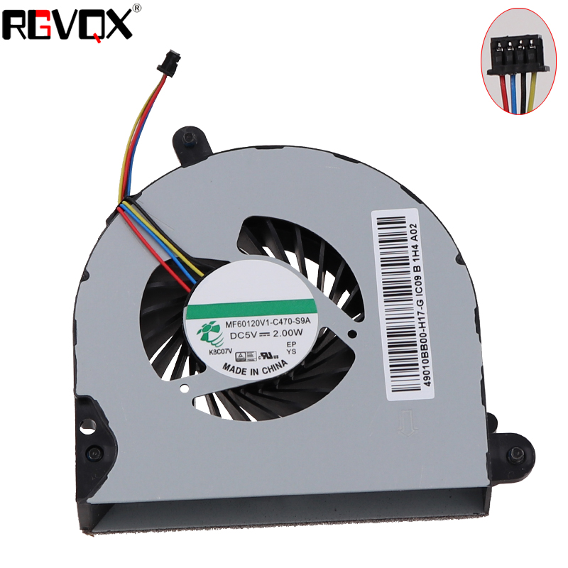 Купить с кэшбэком Brand NEW Laptop Cooling Fan for HP Prokbook 6560B 6565B MF60120V1-C050-S9A MF60120V1-C470-S9A Repair Replacement