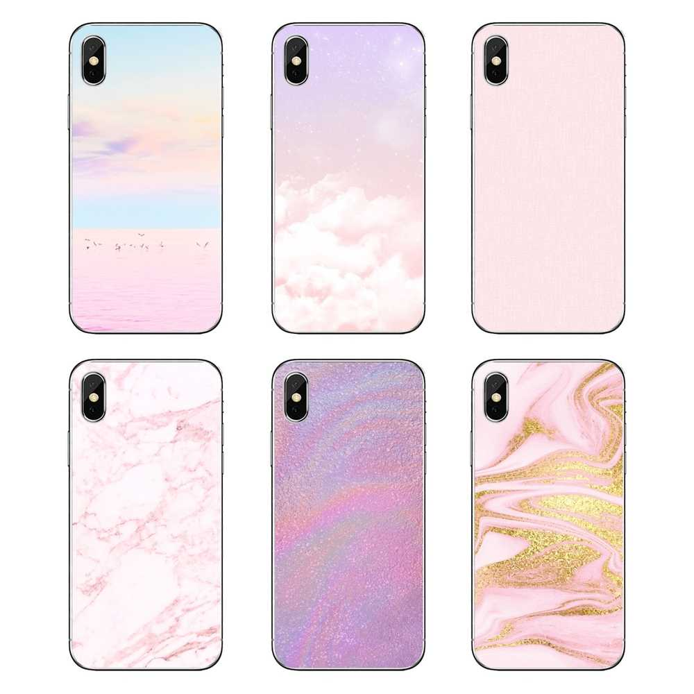 Soft Transparent Cases Covers For Nokia 2 3 5 6 8 9 230 3310 2.1 3.1 5.1 7 Plus Pastel Pink Wallpaper