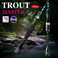 TSURINOYA MASTER UL Carbon Spinning Fishing Rod 1.4/1.68m Fast Action Ultra Light Fuji Accessory Fishing Spinning Rod 2 Section