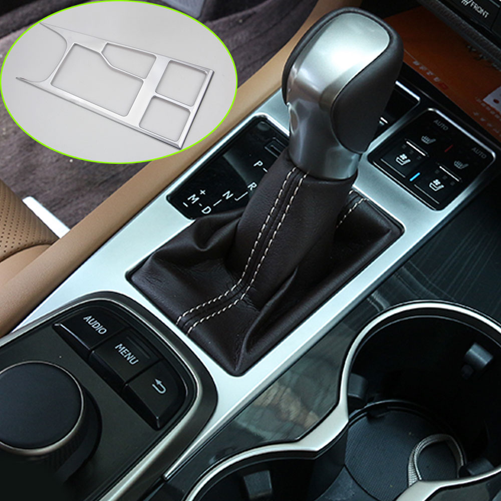BBQ@FUKA Car-styling Interior Console Gear Panel Frame Trim Cover Sticker Car <font><b>accessories</b></font> Fit For <font><b>Lexus</b></font> 2016 <font><b>RX200T</b></font> RX350 RX450h image