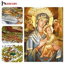 Huacan, Вышивка с кристаллами, Религия, специальные формы, diamond Вышивка, Рукоделие отделка стен, 5D алмаз живопись