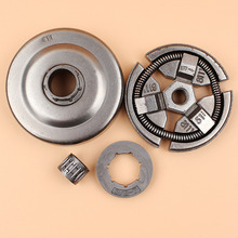 3/8-7Teeth Clutch Drum Sprocket Rim Needle Bearing Kit Fit Husqvarna 55 51 50 EPA Rancher Chainsaw Replacement NEW rim sprocket