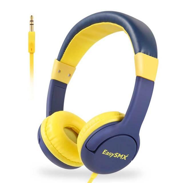 Kids Headphones EasySMX KM-666 Headset Headphones with 80-85dB Child Safe Volume Headset for Xiaomi iPhone iPad Smartphone