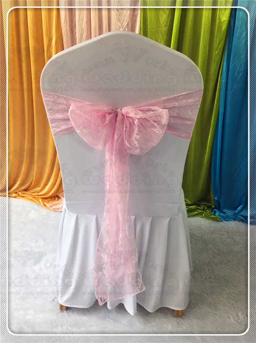 8x108 Lace Chair Sashes Bow Table Runner Tablecloth Napkins Fabric Hoods Caps Skirt Overlay Linen Party Wedding Decorations