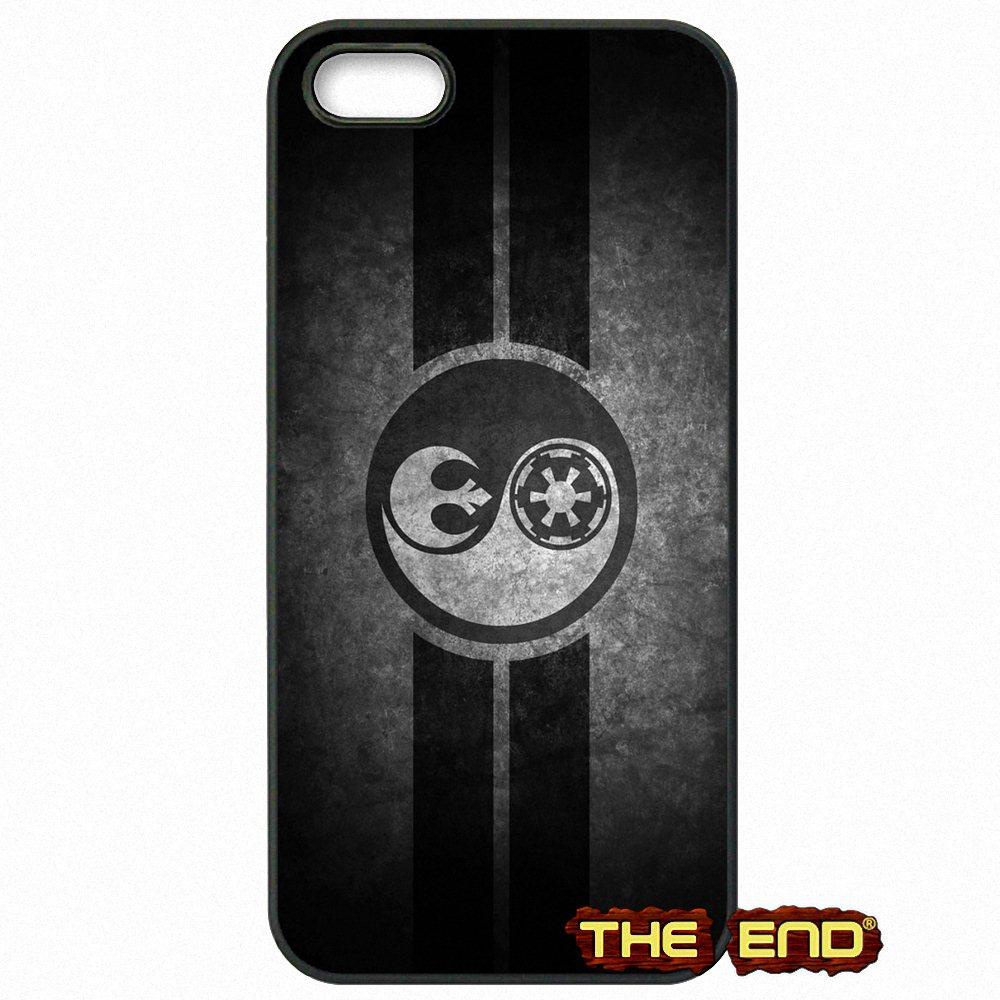 Star Wars Yin Yang Logo Wallpaper TPU Phone Case For IPhone X 4 4S 5 5C SE 6 6S 7 8 Plus Galaxy J5 J3 A5 A3 2016 S5 S7 S6 Edge In