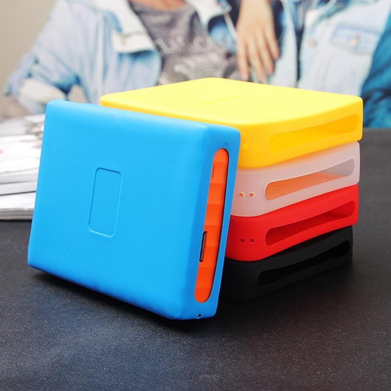 XZR Chute de résistance Élastique En Caoutchouc De Silicium Cas Pour HDD 500G 1 T 2 T Portable Disque Dur Pour WD My Passport 1 T 2 T