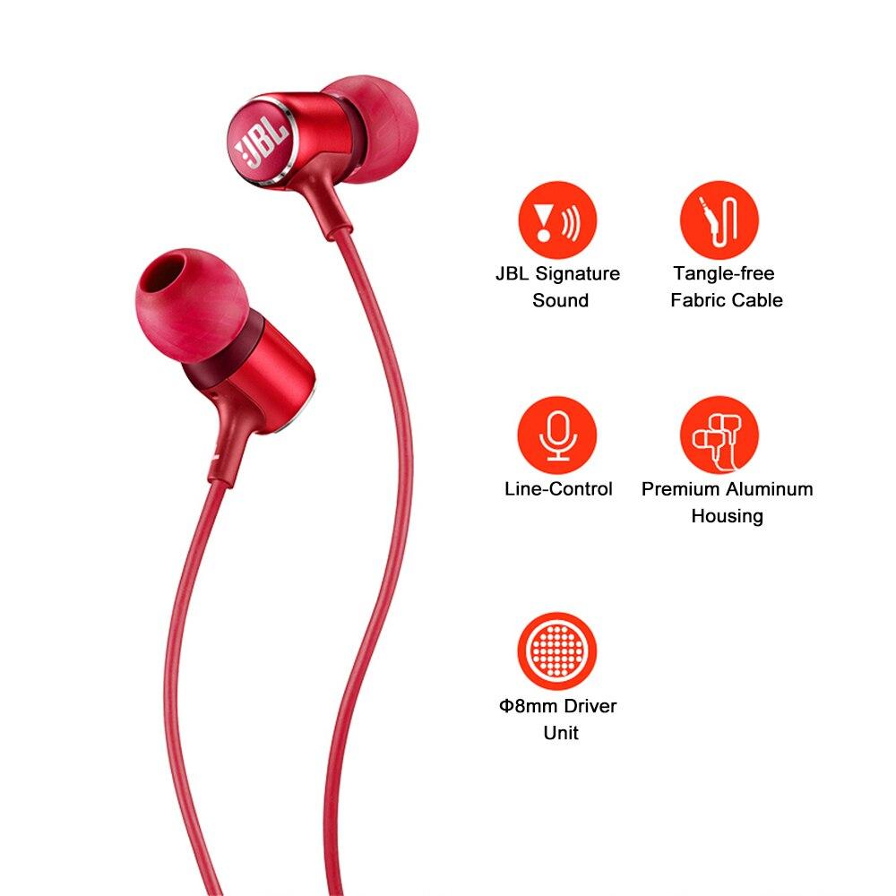 JBL LIVE 100 In-Ear Headphones 4