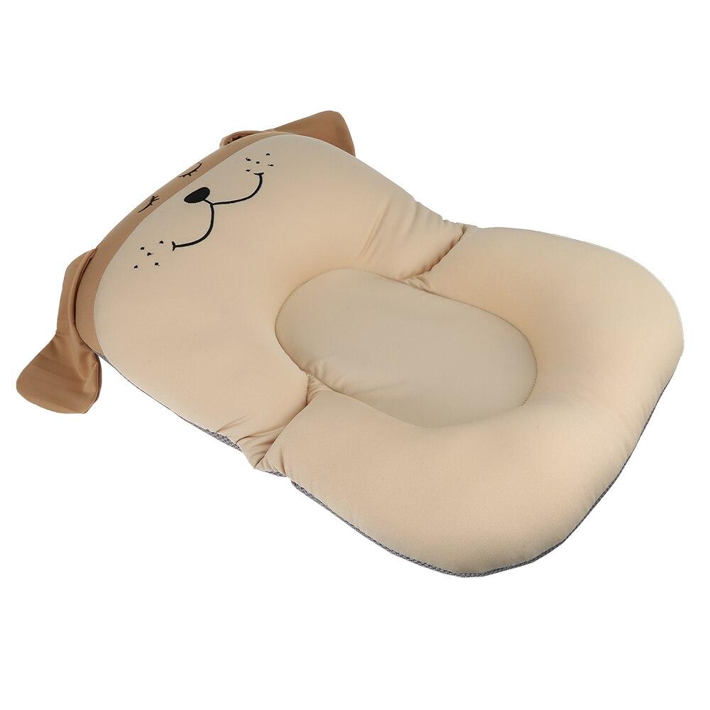 Противоскользящий детский коврик для ванной, Складное Сиденье для душа, Детская ванна, шезлонг, нескользящая защитная подушка для ванной, мягкая губчатая подушка для новорожденной кровати - Цвет: brown