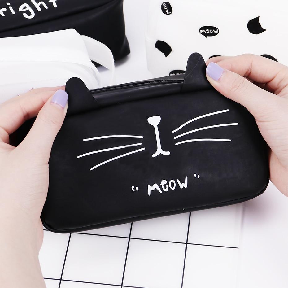 Cute Cat Makeup Organizer