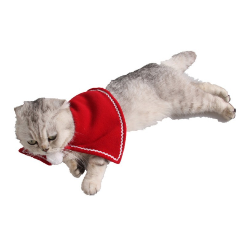 Cat Clothing The Best Pet Costume For A Cat Cloaks Mantle With Buckhorn Suit Set Clothes For Cats Small Cat Puppy Coat Cute Clothing 2019 Elegant In Style