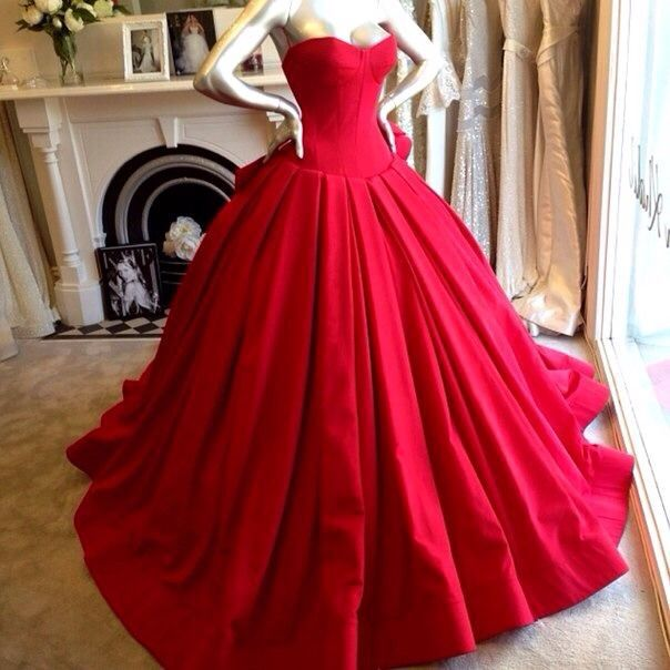 Simple High Quality strapless ball gown elegant prom dresses pleats ...