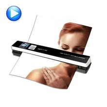 portable scanner skypix TSN480 automatic feeding HD 1200dpi A4 file Automatic photo clipping send otg Data line
