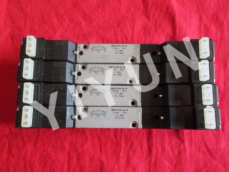 MEH-5/3G-5.0-B 173140 MEH-5/3E-1/8-P-B 173147 MEH-5/3E-1/8-B 173145 MEH-5/2-1/8-L-S-B 173136 FESTO Solenoid valve meh 5 2 1 8 p l b 173135 festo single solenoid valve pneumatic control valve