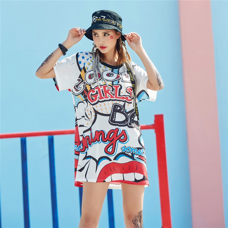 just.be.never hip hop style 2018 spring clothes women plus tops punk tshirt 80s graphic tees harajuku korean T shirt for girls