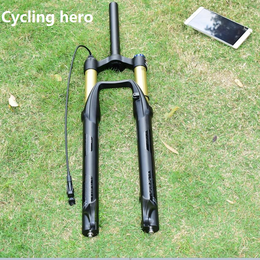 100MM Travel Mountain Bike Air Fork Front Suspension Performance 32MM 26 27.5 29