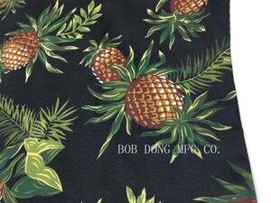 Image 5 - Bob dong masculino vintage havaiano aloha abacaxi impressão floral camisa hawaii manga curta praia festa cruzeiro camisas luau pôr do sol xxl