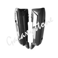 for YAMAHA YZF R1 2009 2010 2011 2012 2013 2014 Real Carbon Fiber Back Muffler Exhaust Pipe Cover Heat Shield Guard
