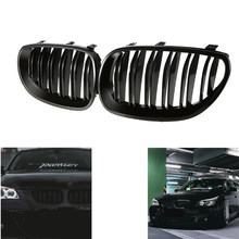 Gloss Black Front Nier Sport Roosters Hood Grill Voor Bmw E60 E61 2003 2004 2005 2006 2007 2008 2009 M5 525i 528i 528xi 530i(China)