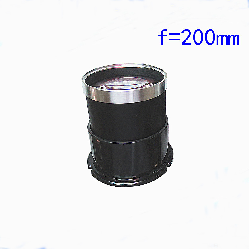 7 HD DIY Projector Parts Kit Multiplayer Film Focusing Lens Focal Length 200mm doumoo 330 330 mm long focal length 2000 mm fresnel lens for solar energy collection plastic optical fresnel lens pmma material