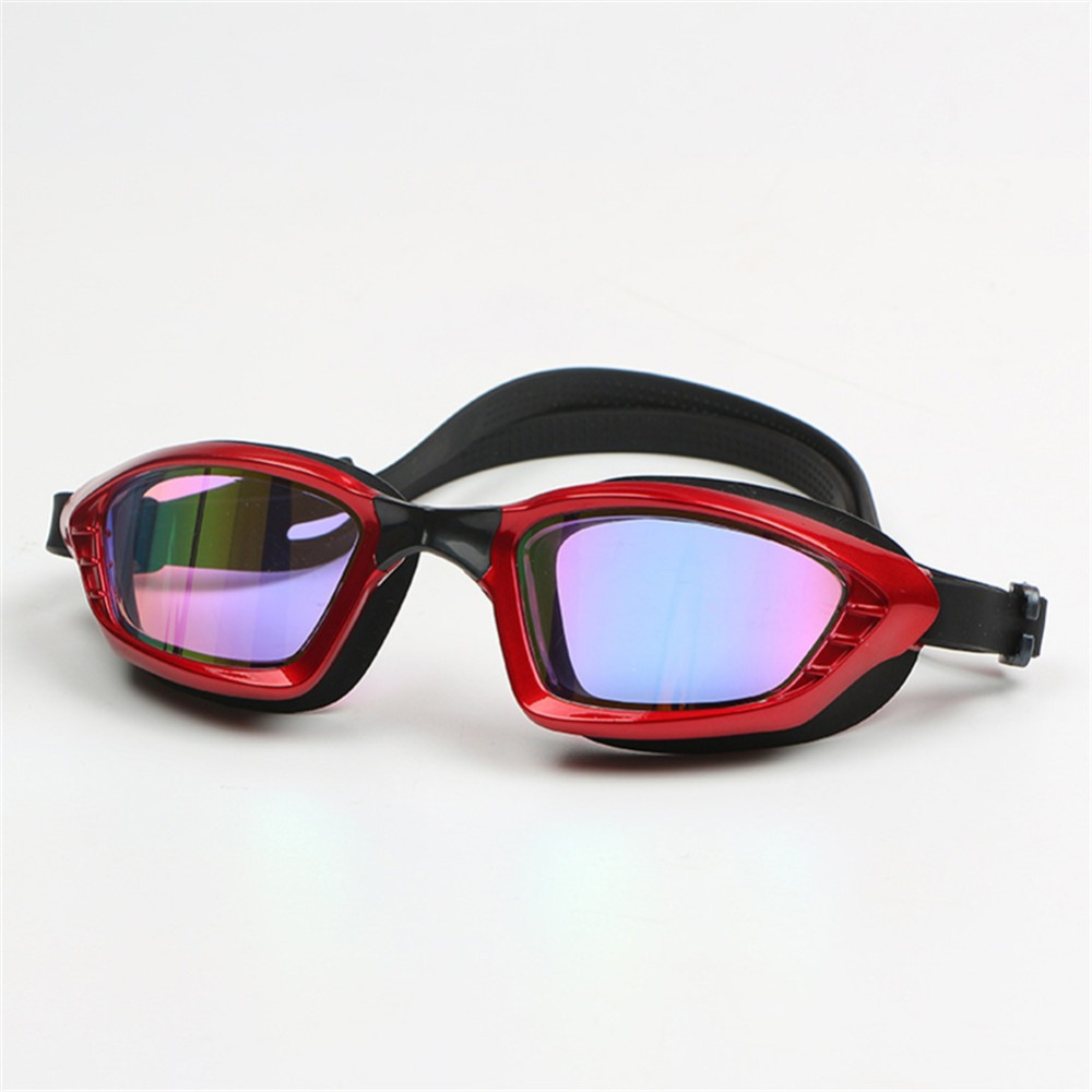 Galvaniza profissional Anti fog UV Óculos de Natação Homens Mulheres Óculos  caixa Grande Óculos de silicone À Prova D  Água hd Integrado em Óculos de  ... 85798fd926