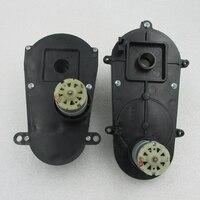 6V 12V 380 Slot Remote Steering Motor Gearbox Children Electric Car Stroller Remote Control Steering Motor
