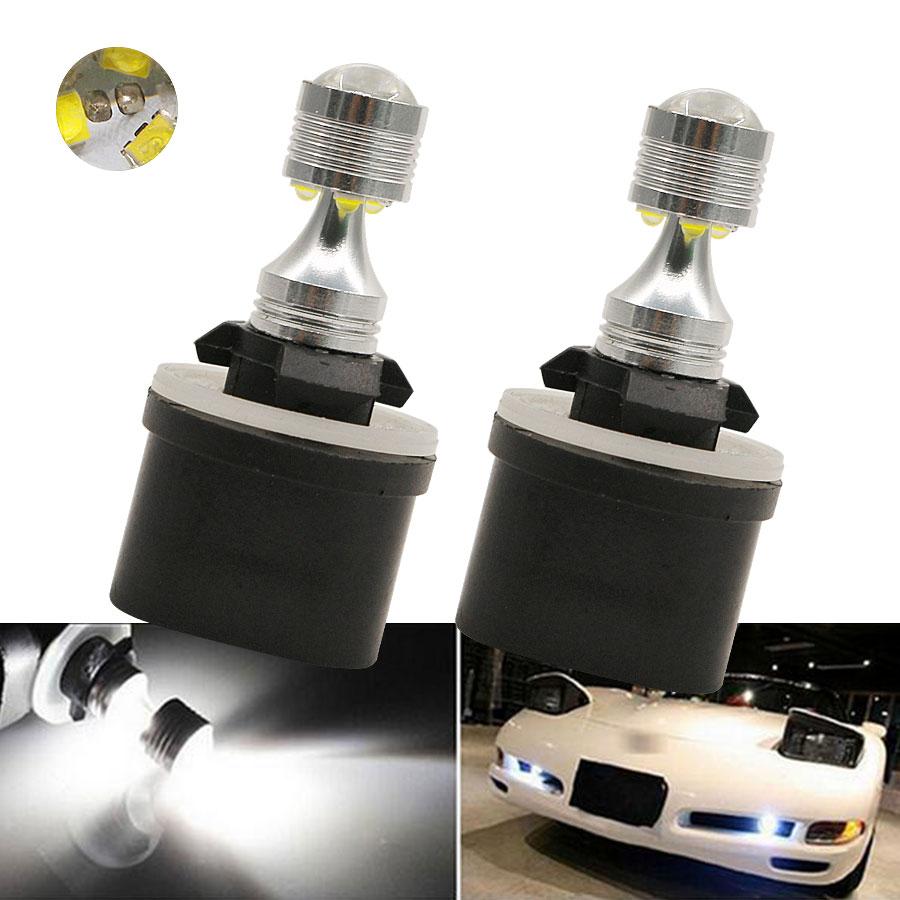 все цены на 2Pcs H27 880 30W LED Lights White Car Front Fog DRL Lights 893 890 899 Bulbs Driving Daytime Running External Light Source New