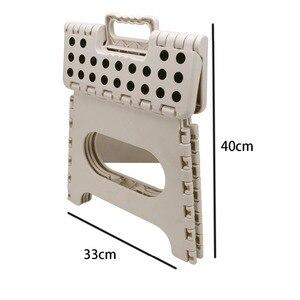 Image 3 - Tabouret de salle de bain anti dérapant Super fort le tabouret de marche pliable léger est assez robuste pour soutenir les adultes et sûr pour les enfants