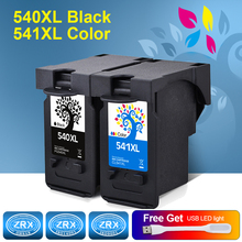 2pcs Ink Cartridge for PG 540XL PG540XL CL 541XL CL541XL  for Canon Pixma MG2250 2150 3150 3250 4250 4150 MX435 375 515 475 535