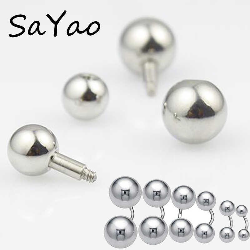... 1 Piece Big Size Stainless Steel Straight Barbell Vaginal Series ring  Tragus Ear Piercing PA Nipple ...