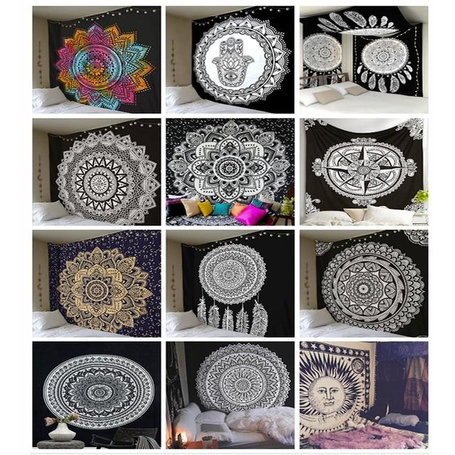 Witchcraft Hippie Art Psychedelic Tapestries 5
