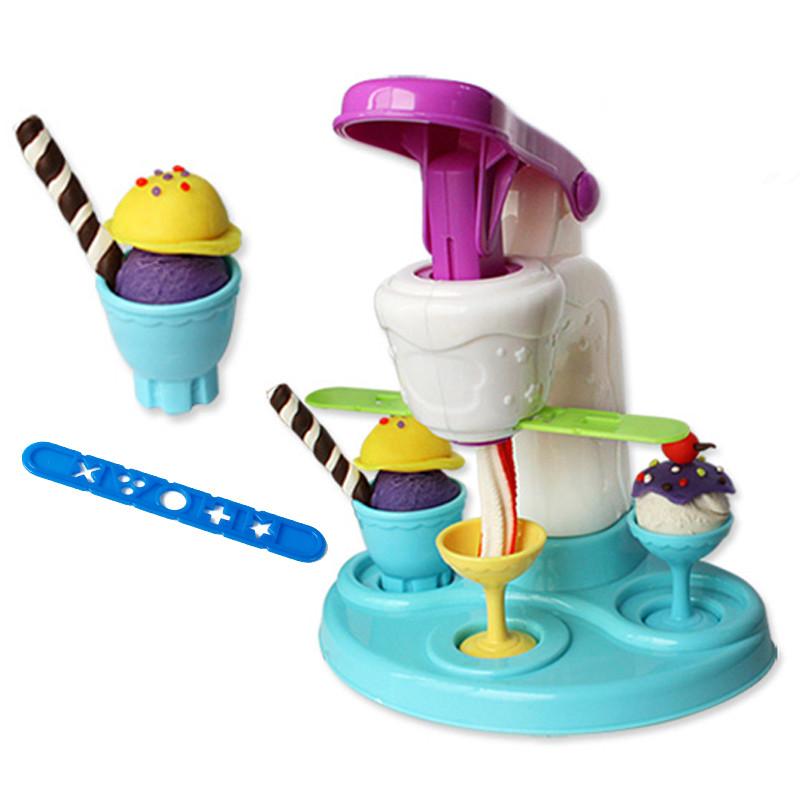 Clay-Polymer-Ice-Cream-Machine-Play-Doh-Plasticine-Fimo-Polymer-Clay-Diy-Playdough-Tools-Toys-For