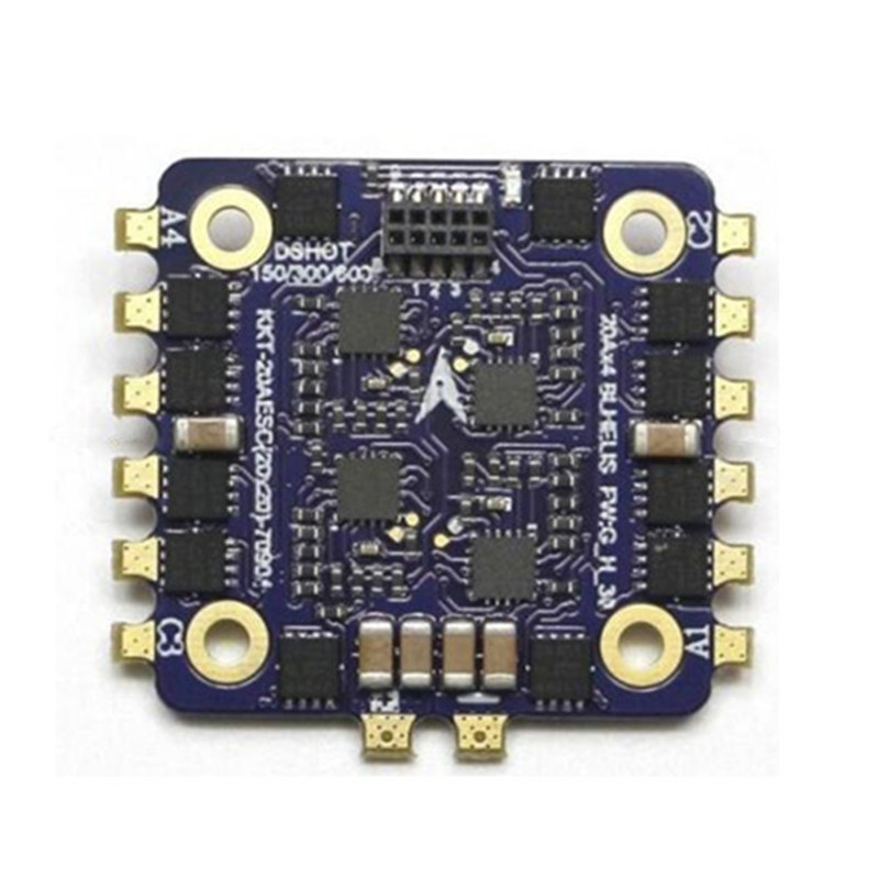 Image 3 - LDARC / Kingkong KK Flytower Part 20x20mm 12A / 20A BLheli_S 2 4S DShot600 4 In 1 ESC for RC Models Flight Controller Frame-in Parts & Accessories from Toys & Hobbies