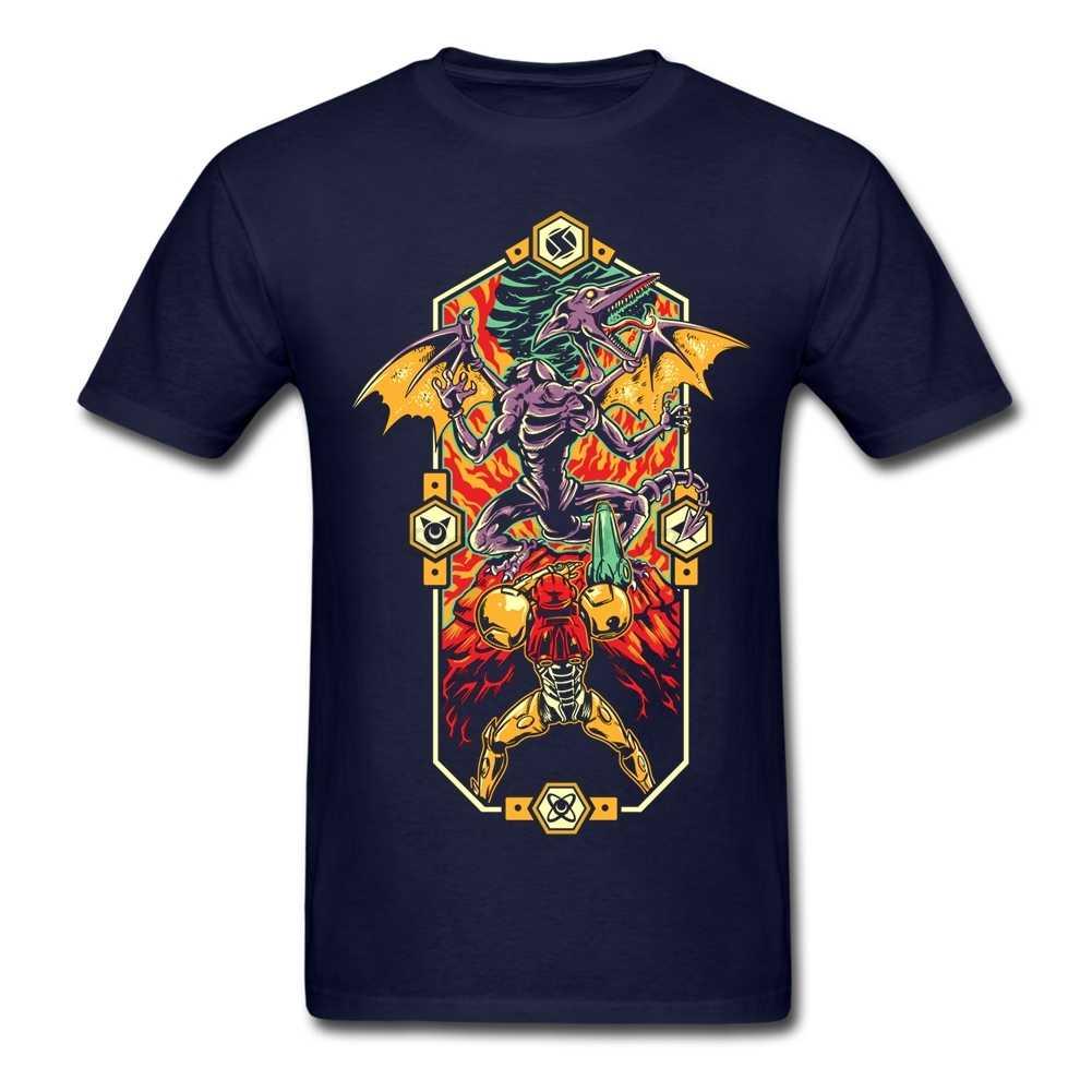 Epic Super Metroid Мужская футболка рок-принтер зеленые футболки для взрослых из натурального хлопка Funky Metroid Prime футболки