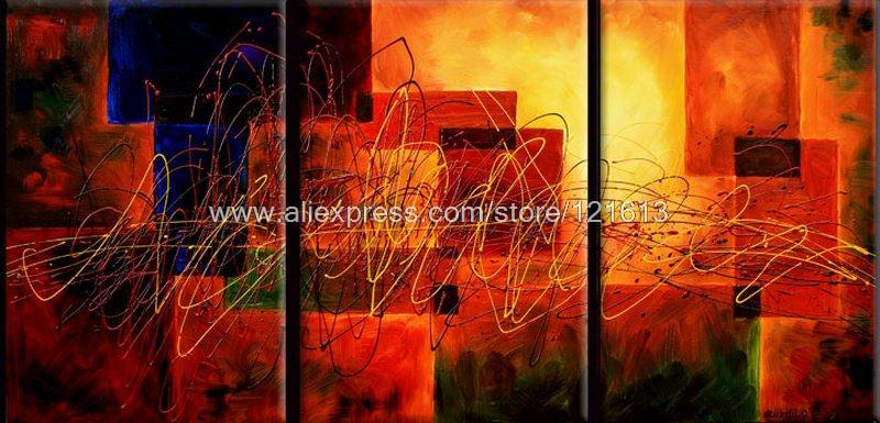 Momentum Oil Painting On Canvas Inspiration Panel Pcs Set - Abstract art canvas painting ideas