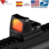 US Stock Trijicon Mini RMR Red Dot Sight Collimator Glock Rifle Reflex Sight Scope Voor Airsoft Hunting Handgun