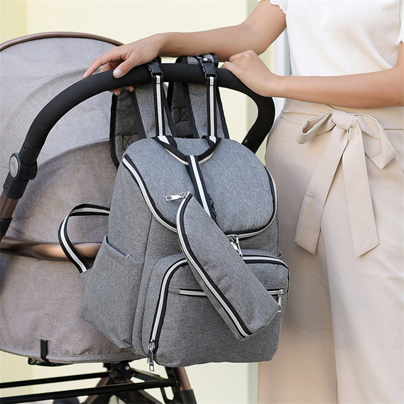 2018 New Fashion Multi-function Shoulder Mummy Bag Insulation Bag Large-capacity Backpack Travel Bag Maternal And Child Package multi function large capacity shoulder mummy bag fashion out of the baby bag maternal and child shoulder bag one generation