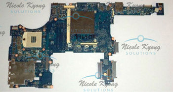 100% working 652508-001 QM67 non-intergrated MotherBoard DDR3x2 SYSTEM BOARD for HP ELITEBOOK 8760W