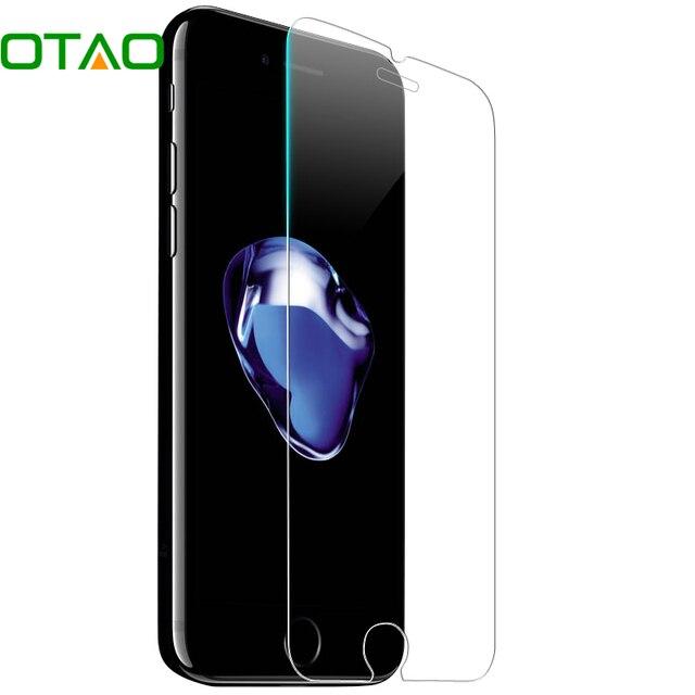 OTAO для Apple iPhone 6/6 S плюс 5 5S 5C se 4 4S закаленное Стекло Экран протектор 9 h против царапин Плёнки HD защитный кожух Стекло