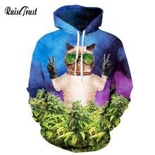 Raise Trust Casual 3d Sweatshirts For Women/Men Fashion Print Funny sun