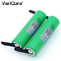 VariCore New Brand 18650 2500mAh Rechargeable battery 3.6V INR18650 25R 20A discharge + DIY Nickel