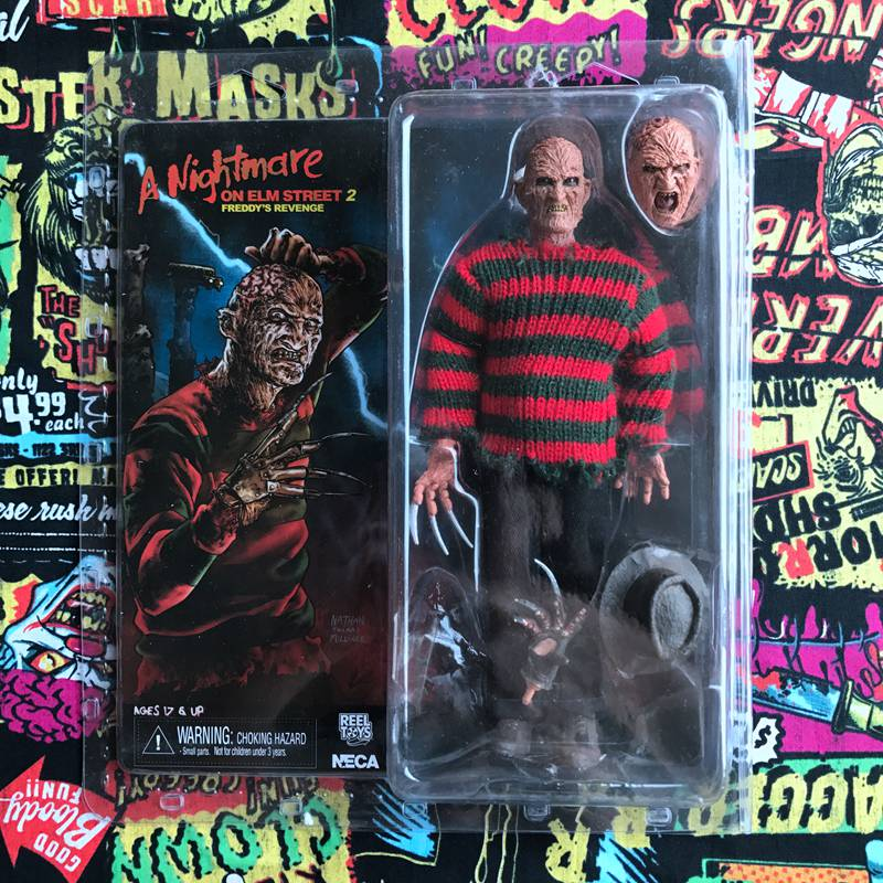 Brand New Box Toy Hot Garage Kit ET Classic Toy Horror a Nightmare on Elm Street Joints Doll Action Figure Collectible Model Toy anime one piece dracula mihawk model garage kit pvc action figure classic collection toy doll