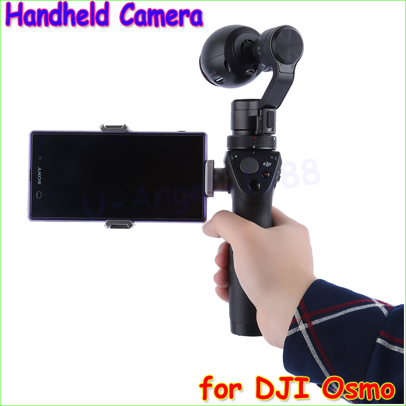 1pc Quadcopter integrated smart handheld PTZ camera OSMO12MP 980mAh Handheld SteadyGrip 4K Camera 3-Axis Gimbal X3 for  Osmo